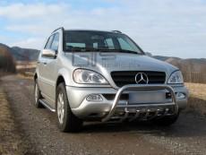 Mercedes ML 2002-2005 Niski przód z grillem