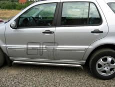 Mercedes ML 2002-2005 Rury boczne