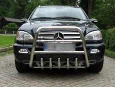 Mercedes ML 2006-2011 Wysoki przód z grillem