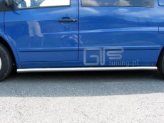 Mercedes Vito 1996-2003  Rury boczne