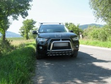 Mitsubishi Outlander 2009+ Niski przód z grillem