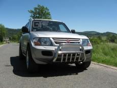 Mitsubishi Pajero III 2000-2006 Niski przód z grillem