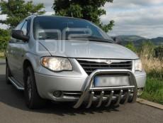 Chrysler Grand Voyager 2001-2006 Niski przód z grillem