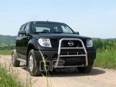 Nissan Navara 2006-2010 Wysoki przód bez grilla