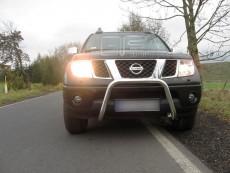 Nissan Navara 2006-2010 Niski przód bez grilla