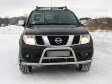 Nissan Navara 2006-2010 Niski przód z rurą poprzeczną