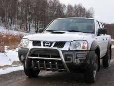 Nissan Pickup 2002-2005 Niski przód z grillem