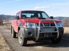 Nissan Pickup 2002-2005 Wysoki przód bez grilla