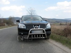 Nissan Qashqai 2007-2009 Niski przód z grillem