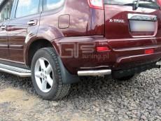 Nissan X-Trail 2001-2006 Narożniki tylne