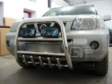 Nissan X-Trail 2001-2006  Wysoki przód z grillem