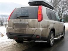 Nissan X-Trail 2007-2009 Narożniki tylne