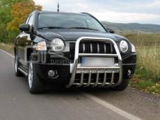 Jeep Compass 2007-2010  Wysoki przód z grillem