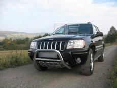 Jeep Grand Cherokee 1999-2004 Niski przód z grillem