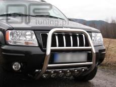 Jeep Grand Cherokee 1999-2004  Wysoki przód z grillem