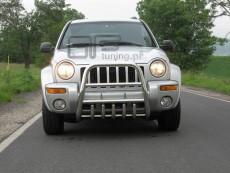 Jeep Cherokee 2002-2004  Wysoki przód z grillem