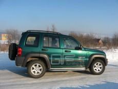 Jeep Cherokee 2002-2004 Stopnie boczne