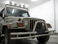 Jeep Wrangler 1997-2006 Niski przód z rurą poprzeczną