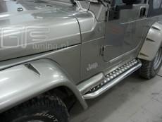 Jeep Wrangler 1997-2006 Stopnie boczne