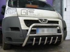 Peugeot Boxer 2007+ Niski przód z grillem