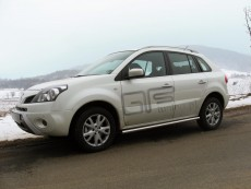 Renault Koleos 2008+ Rury boczne