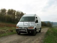 Renault Master 1998-2003 Niski przód bez grilla