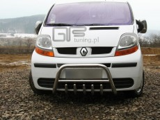 Renault Trafic 2001+ Niski przód z grillem