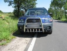 Subaru Forester 2003-2005  Wysoki przód z grillem