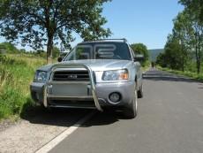 Subaru Forester 2003-2005 Wysoki przód bez grilla