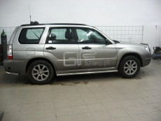 Subaru Forester 2006-2007 Rury boczne