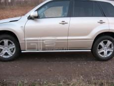 Suzuki Grand Vitara 2006+  Rury boczne