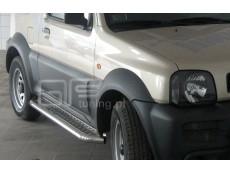 Suzuki Jimny 2006+  Stopnie boczne