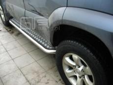 Toyota Land Cruiser 120 2002-2010  Stopnie boczne