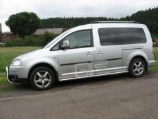 Volkswagen Caddy 2003+ Rury boczne