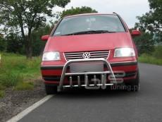 Volkswagen Sharan 2000-2004 Niski przód z grillem