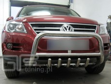 Volkswagen Tiguan 2007-2010 Niski przód z grillem