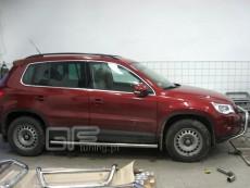 Volkswagen Tiguan 2007-2010 Rury boczne