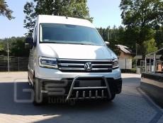 Volkswagen Crafter 2016 Niski przód z grillem