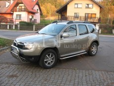 Dacia Duster 2010 + Rury boczne
