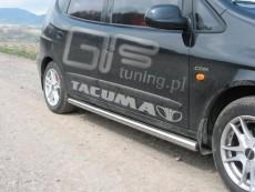 Daewoo Tacuma 2000-2004 - Rury boczne