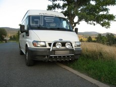 Ford Transit 2001-2005 Wysoki przód z grillem