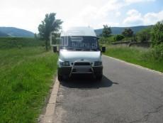 Ford Transit 2001-2005 Wysoki przód bez grilla