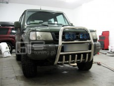 Hyundai Galloper 1991-2003 Wysoki przód z grillem