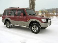 Hyundai Galloper 1991-2003  Rury boczne
