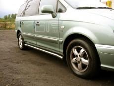 Hyundai Trajet  Rury boczne