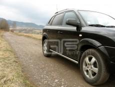 Hyundai Tucson 2004-2009 Rury boczne